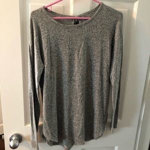 grey aerie just add leggings tunic